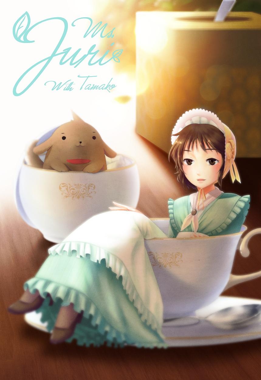 Teacup lady