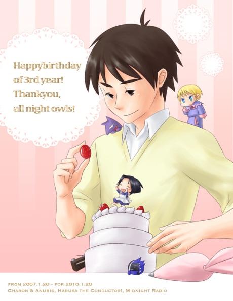 Happy Birthday of 3rd Year! Thankyou for all Nightowls