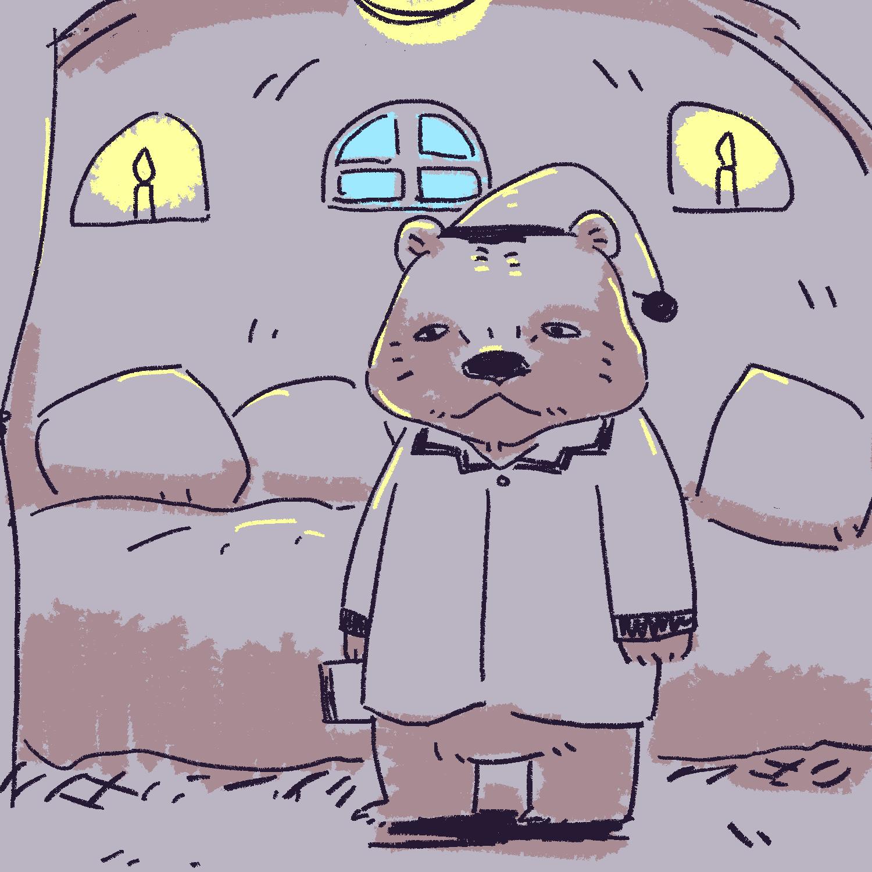 クマが冬眠するんなら人間だって冬眠できたい
