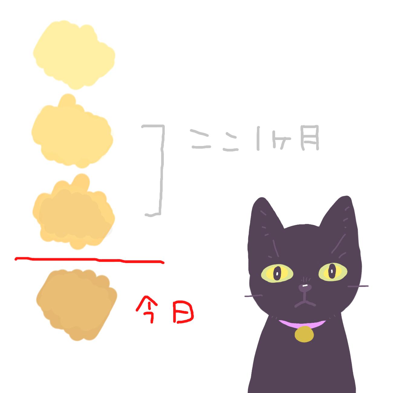 動物病院の先生に見せた猫のおしっこカラーチャート