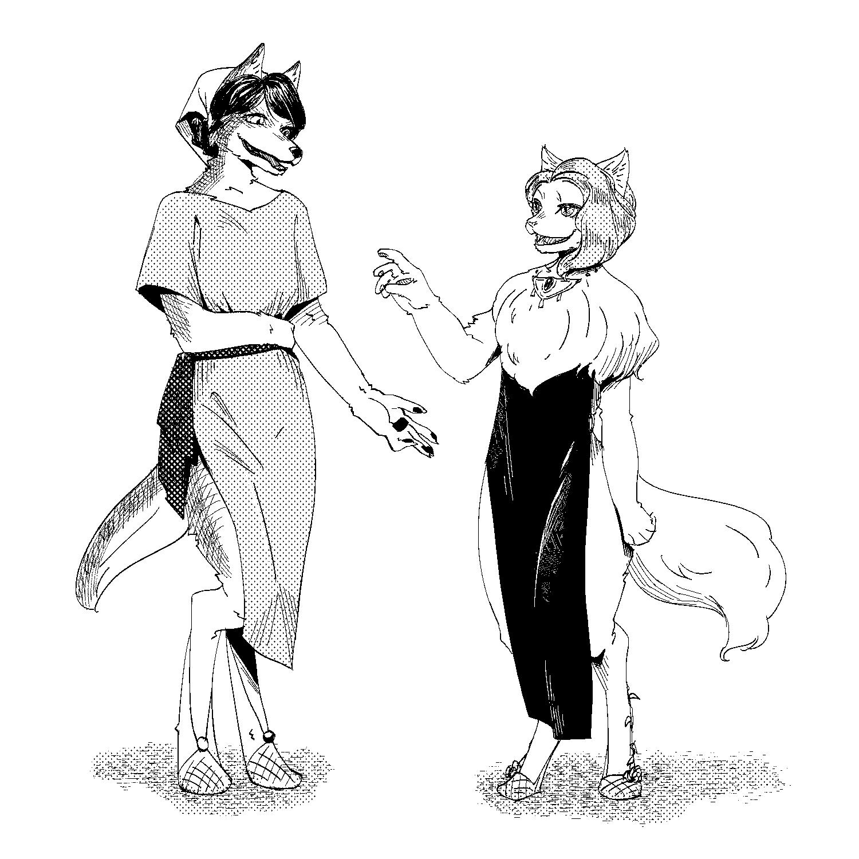シューラのお母さんとオーリャのお母さん